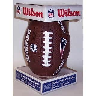 Wilson New England Patriots Full Size Composite NFL Football  F1748