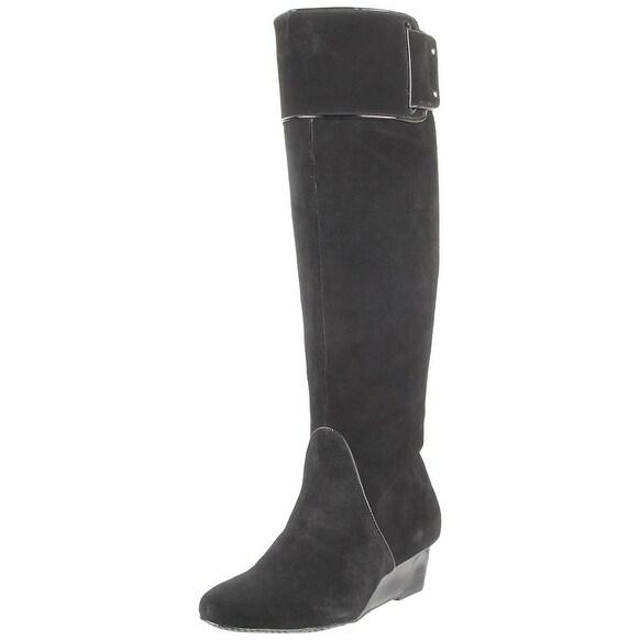 Calvin Klein Women's Helenah Knee High Wedge Boots