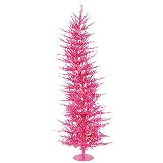"""4' x 19"""" Pink Laser Tree Dural 70PK 608T"""