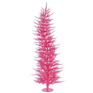 """5' x 24"""" Pink Laser Tree Dural LED 100PK"""