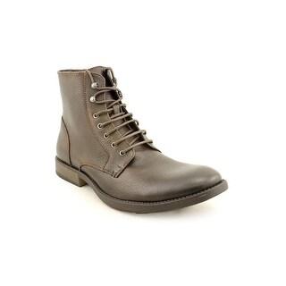 Robert Wayne Elbio Men  Round Toe Leather Brown Boot