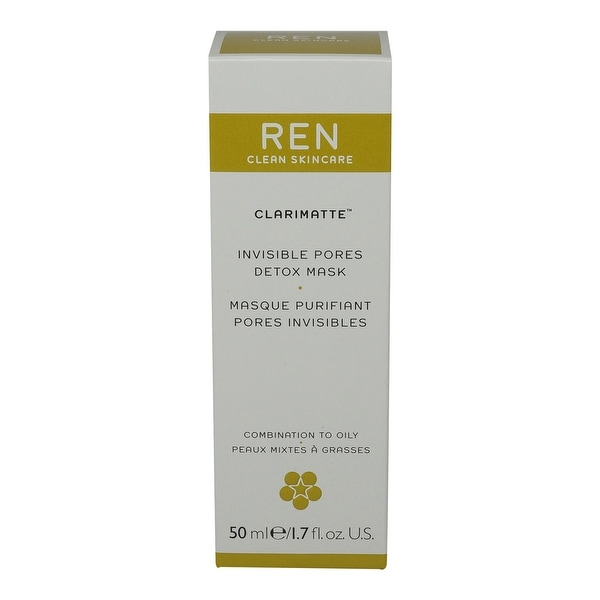 REN Skincare Clarimatte Invisible Pores Detox Mask 50ml/1.7Oz by REN