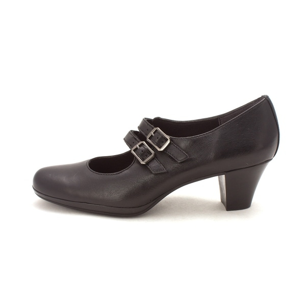 Munro Womens Alicia Leather Round Toe Mary Jane Pumps - 7.5