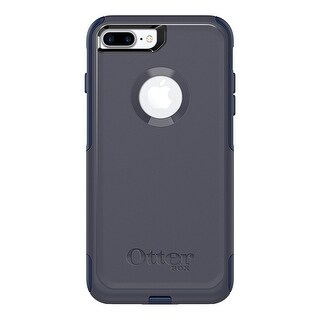 OtterBox COMMUTER SERIES Case for iPhone 8 Plus & iPhone 7 Plus - Indigo Way (Maritime Blue/Admiral Blue)