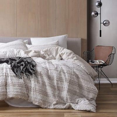 Lenora Jacquard - Clipped Cotton Oversized Comforter