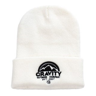 Gravity Outdoor Co. Travel Cuff Beanie, Ivory