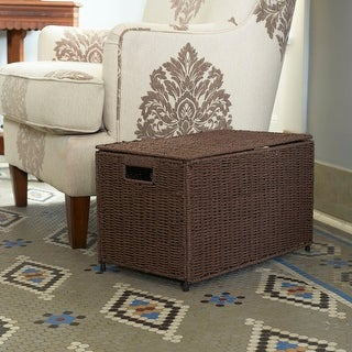 Link to Household Essentials Small KD Chest in Paper Rope Coffee Similar Items in Games & Puzzles