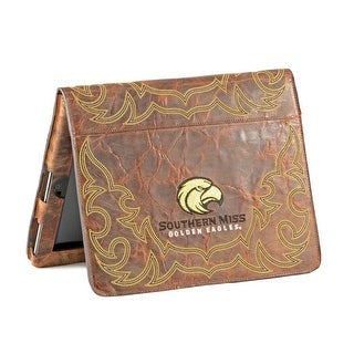 Gameday iPad Case South Mississippi Golden Eagle Brass