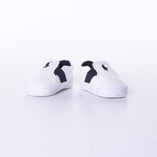 Baby Boys' Canvas Sneaker In White