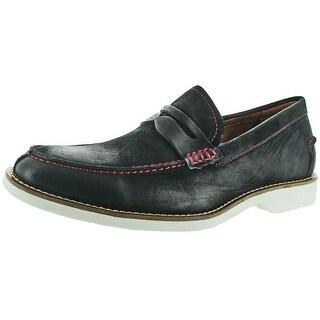 Donald J Pliner Ponce Men's Penny Loafer Dress Shoes