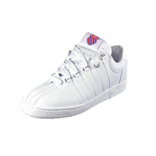 K-Swiss Classic VN EW Round Toe Leather Sneakers