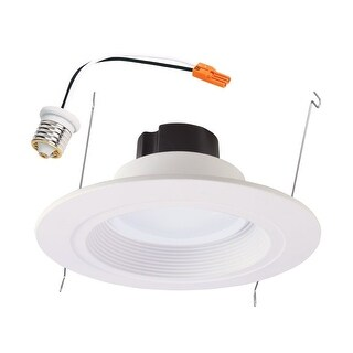 "Halo RL560WH6935R LED Retrofit Kit, Module and Trim, 5""-6"", White"