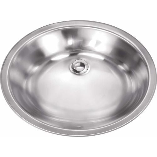 "Miseno MSS181916L 19-1/8"" Single Basin 18-Gauge Stainless Steel Bathroom Sink"