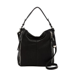 Jessica Simpson Womens Baylinn Hobo Handbag Faux Leather Convertible - MEDIUM