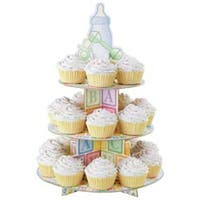 """Baby Feet 12""""X17.5"""" Holds 24 Cupcakes - Treat Stand"""