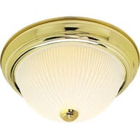"Nuvo Lighting 76/132 2 Light 13-1/4"" Wide Flush Mount Bowl Ceiling Fixture"