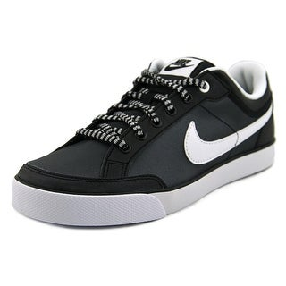 Nike Capri 3 LTR (GS) Round Toe Leather Tennis Shoe