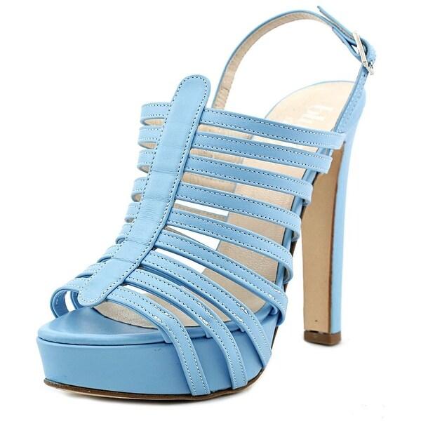 Blugirl 46004 Open Toe Leather Platform Heel