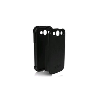 Ballistic Shell Gel Case for Samsung Galaxy S3 - Black
