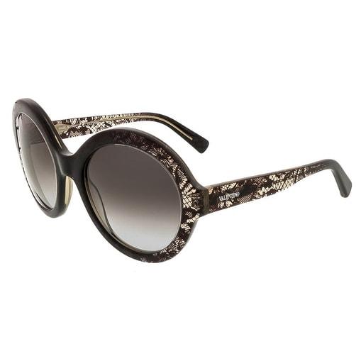 Valentino V668/S Round Sunglasses
