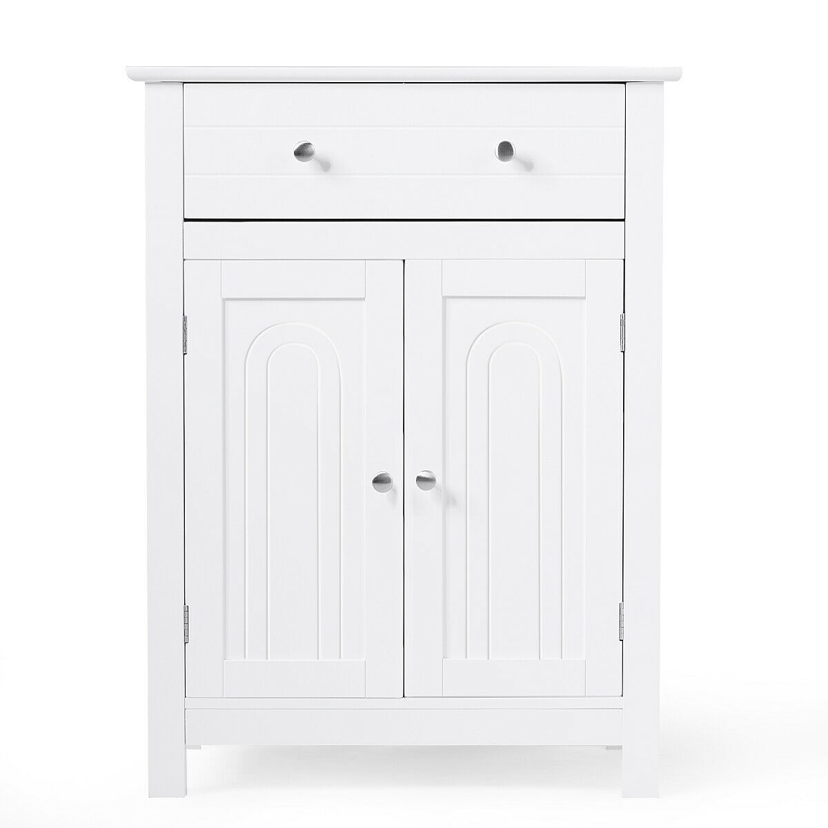 Gymax Bathroom Storage Cabinet