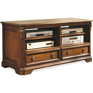 Hooker Furniture 281 55 459 52 Inch Wide Hardwood Media Cabinet From The  Brookha