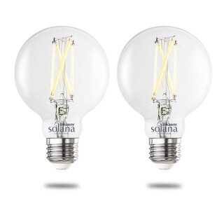 Link to Bulbrite Solana Smart LED G25 60W Equivalent Tunable WIFI Light Bulb, Clear, 2PK - 2200K-6500K Similar Items in Light Bulbs