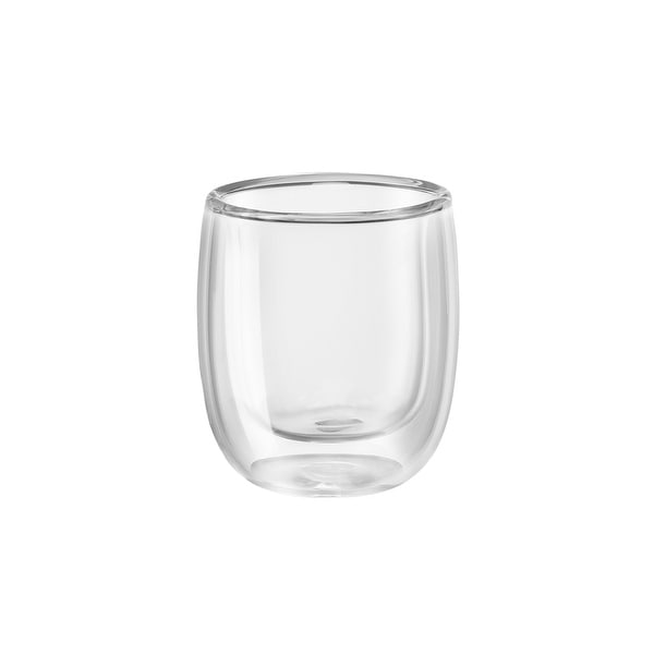 ZWILLING Sorrento 2-pc Double-Wall Glass Espresso Cup Set - Clear