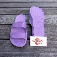 Pali Hawaii Jandals PURPLE with Certificate of Authenticity