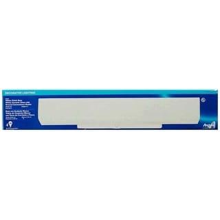 "Westinghouse 66424 4-Light Bathroom Channel Fixture, 24"" x 4-1/2"", White"