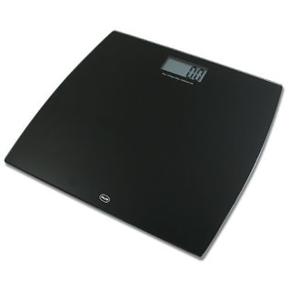 American Weigh Scales Digital Glass Scale, Black