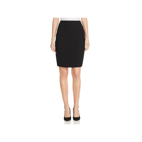 Hugo Boss Womens Pencil Skirt Solid Mini
