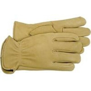 Boss 4085J Unlined Premium Grain Deerskin Glove, XL