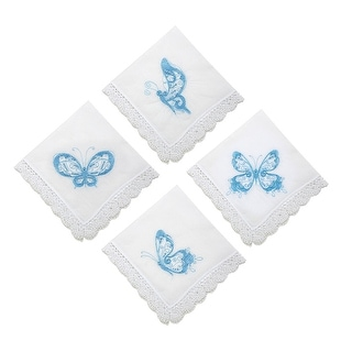 Freedom Butterfly Handkerchief Set of 4