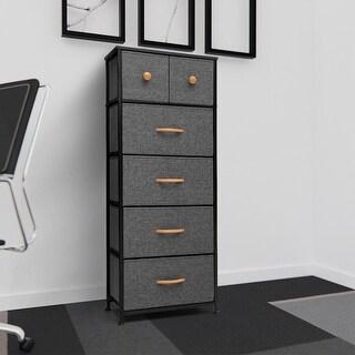 Crestlive Products 6-drawer Chest Vertical Dresser Storage Tower