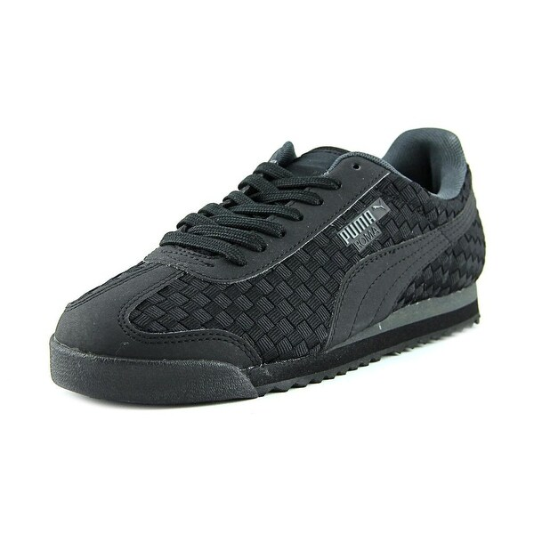 Puma Roma Weave Men Round Toe Canvas Sneakers