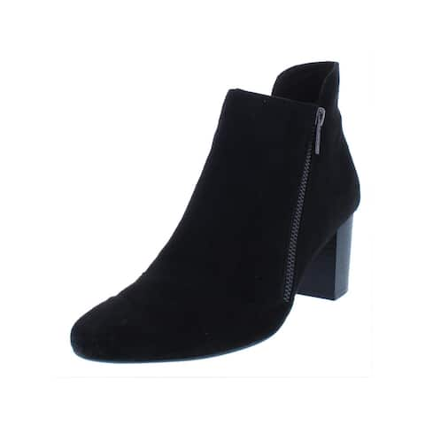 Rockport Womens Gail Ankle Boots Block Heel