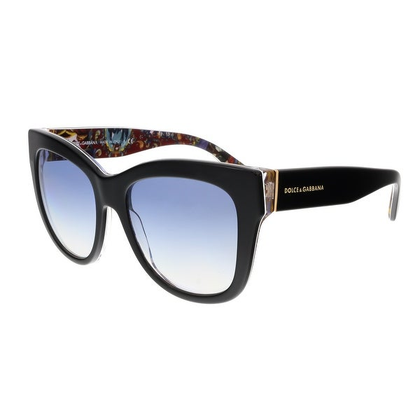 Dolce&Gabbana DG4270 303319 Black Cateye Sunglasses - 55-19-140