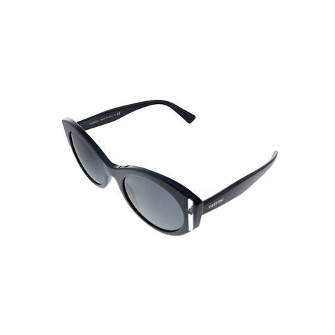 Valentino VA 4039 500187 53mm Womens Black Frame Grey Lens Sunglasses