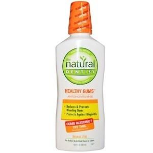 Natural Dentist Daily Healthy Gums Antigingivitis Rinse Orange Zest - 16 fl oz