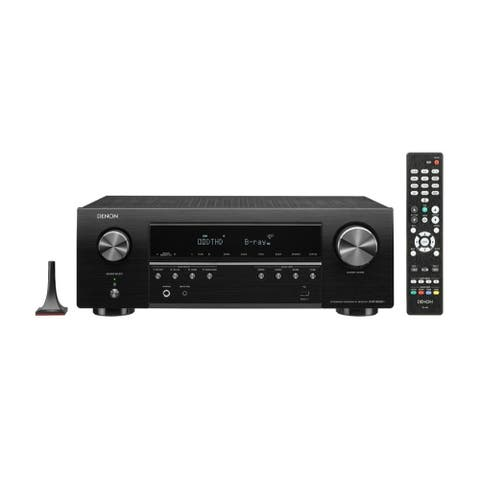 Denon AVR-S650H 5.2-Channel A/V Receiver with Voice Control