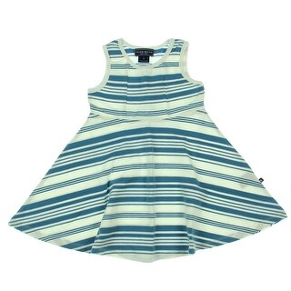 Toobydoo Toddler Girls Striped Skater Dress - 2