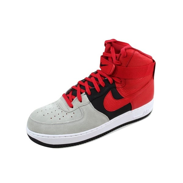 6753f0fe0 Shop Nike Men's Air Force 1 High 07 LV8 Wolf Grey/University Red ...