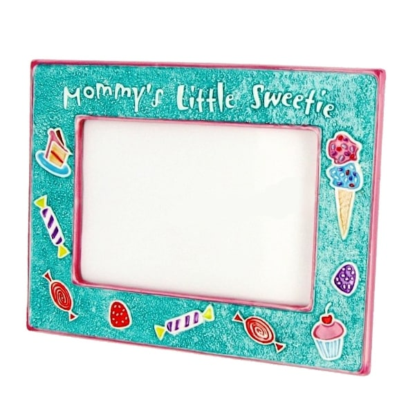 Mommy's Little Sweetie Ceramic 4x6 Photo Frame