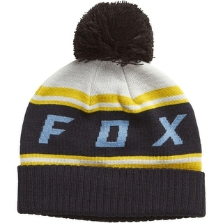 Fox Racing 2017/18 Mens Black Diamond Pom Beanie - 19778
