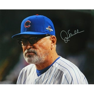 Joe Maddon Signed Chicago Cubs Close Up 16x20 Photo