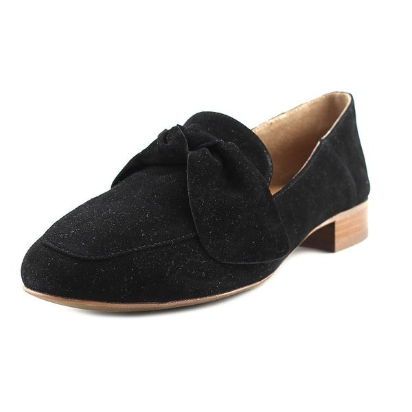 Franco Sarto Abyss Women Round Toe Synthetic Black Loafer
