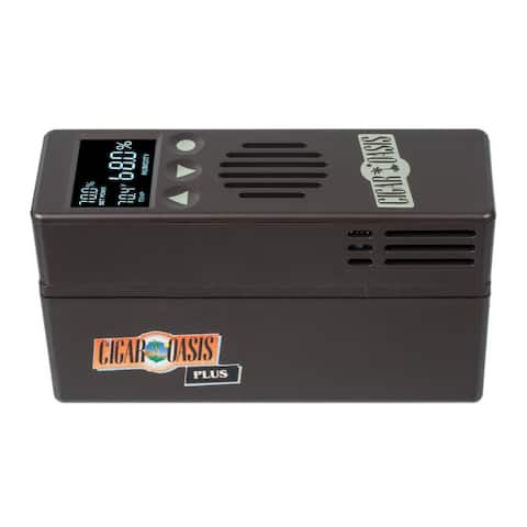 "Cigar Oasis Plus 3.0 Electronic Cigar Humidifier (1000 Cigar Capacity) - 6"" x 2"" x 3.5"""