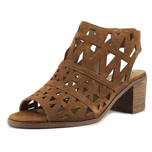 Steve Madden Womens Estee Open Toe Casual Ankle Strap Sandals