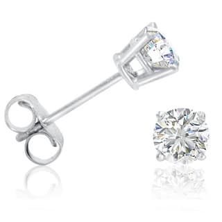 Amanda Rose 1/2ct tw Round Diamond Stud Earrings set in 14K White Gold|https://ak1.ostkcdn.com/images/products/is/images/direct/a568e8639e1be14089746f5959c8d6c1aac4aabf/Amanda-Rose-1-2ct-tw-Round-Diamond-Stud-Earrings-set-in-14K-White-Gold.jpg?impolicy=medium